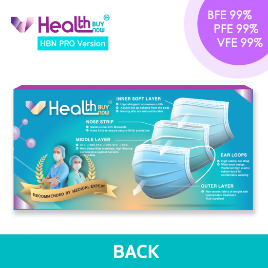 Healthbuynow Pro Lv3 Medical Adult Mask (Made in Hong Kong)