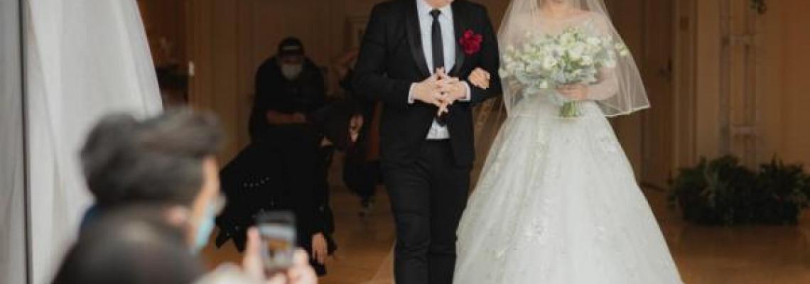【終覓得真愛】39歲朱慧敏婚禮曝光 Bob做「外父」親自牽手進場