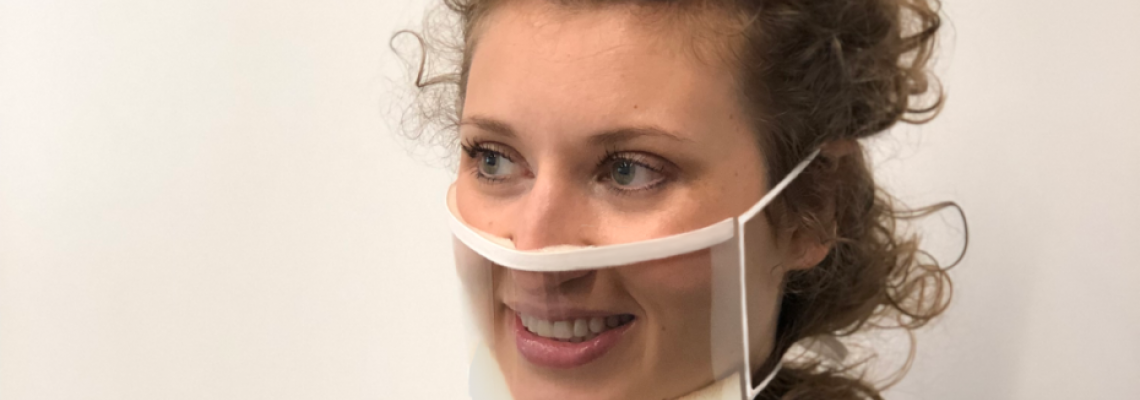 推出新的透明面罩,以幫助再次看到微笑