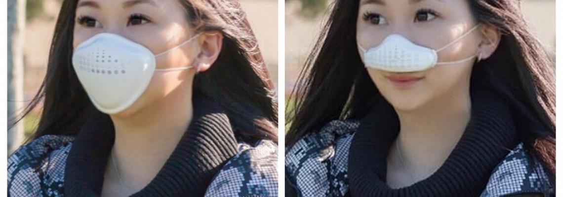 港人設計分體式「口鼻罩」 方便飲食降低感染風險