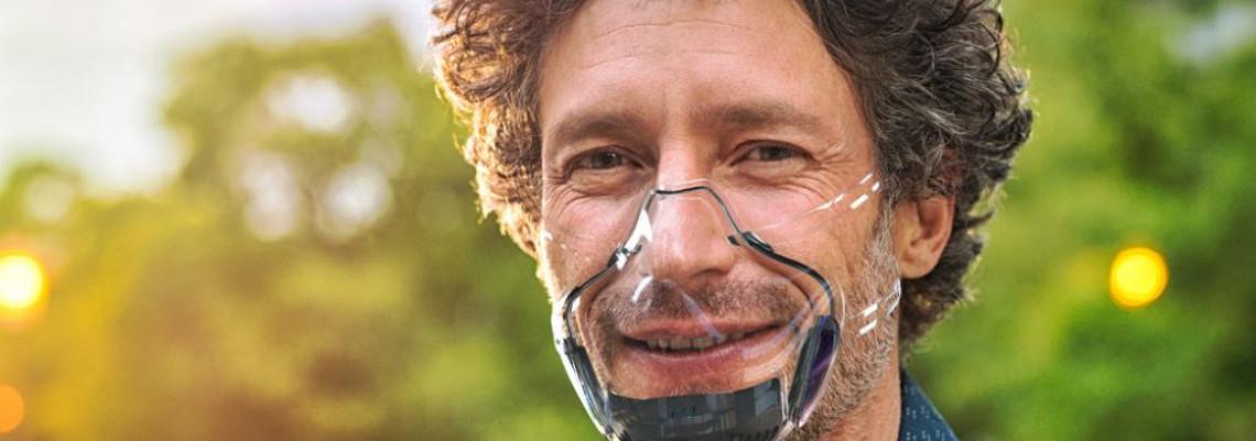 全球首款透明口罩 Leaf 正式發售