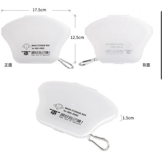 Three-dimensional mask storage box