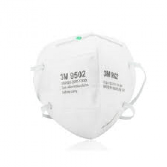 3M 9502 KN95 頭带式【每箱10盒】