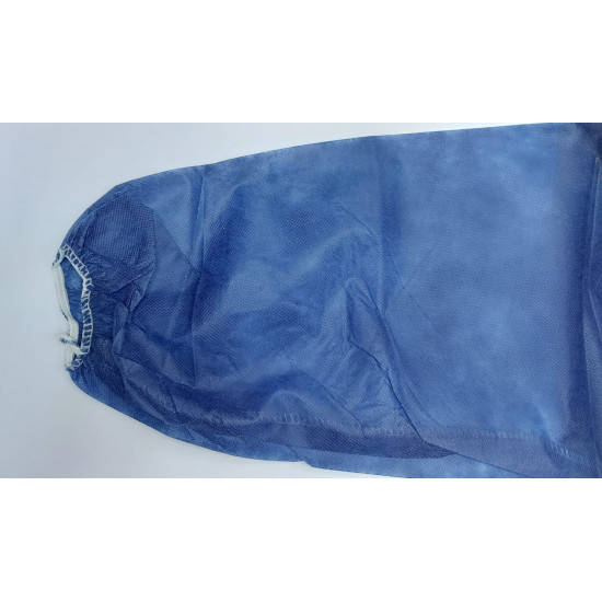 深藍色一次性隔離保護衣【保護衣】(每套10件)