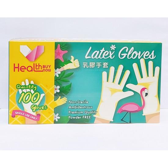 乳膠手套【馬來西亞製】HEALTHBUYNOW 出品(30盒起批)