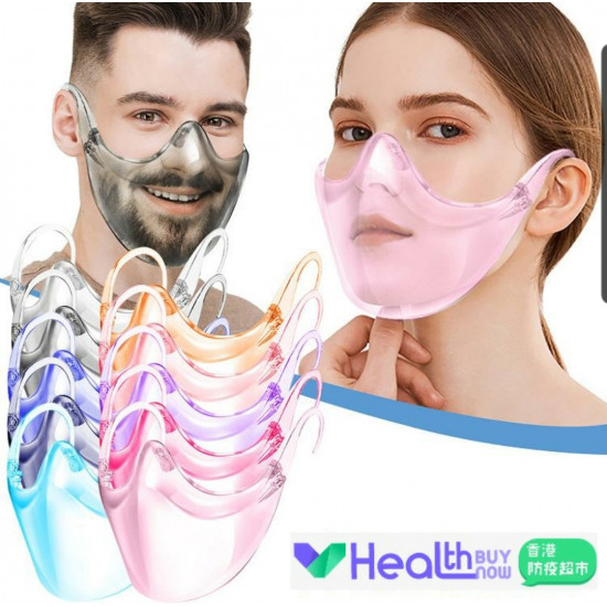 9 color transparent mask (5 batches minimum)