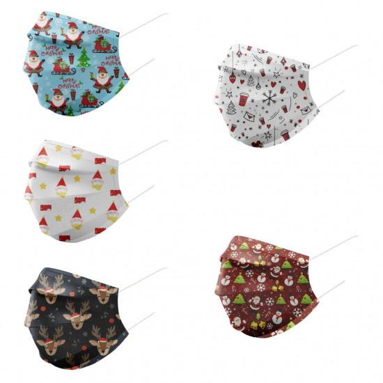 歡樂聖誕親子口罩(10盒起批)