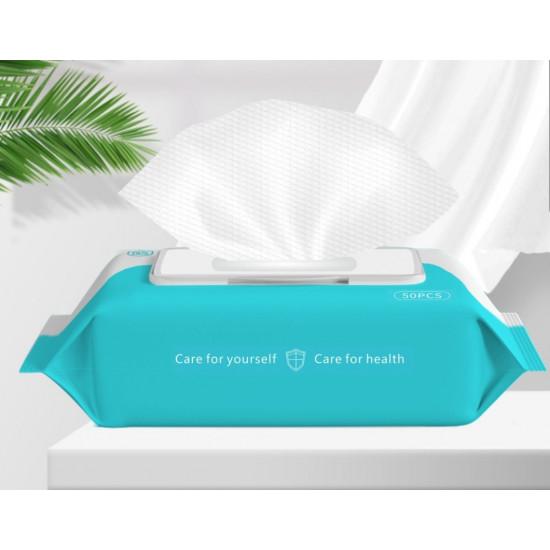 包裝酒精濕紙巾(一套10包)