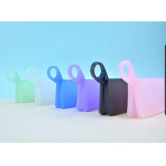 Silicone mask clip