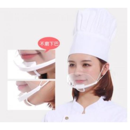 Transparent masks [a set of 10]