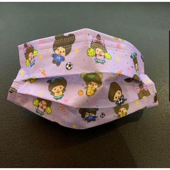 兒童猴子卡通口罩(10盒起批)