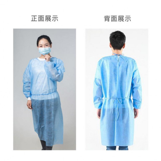 Disposable isolation protective clothing [10 pieces per set]